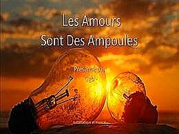 diaporama pps Les amours des ampoules