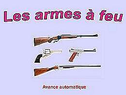 diaporama pps Les armes à feu