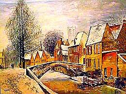 diaporama pps Les beautés hivernales de Bruges