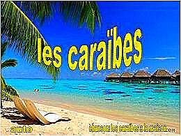 diaporama pps Les Caraïbes
