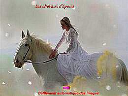 diaporama pps Les chevaux d'Epona