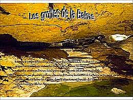 diaporama pps Les Grottes de la Balme