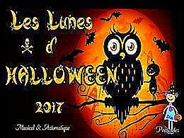 diaporama pps Les lunes d'Halloween