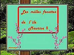 diaporama pps Les milles facettes de l'île Maurice