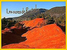 diaporama pps Les ocres de Rustrel