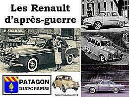 diaporama pps Les Renault d'après guerre