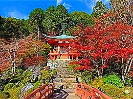 diaporama pps Superbes paysages automnaux du Japon