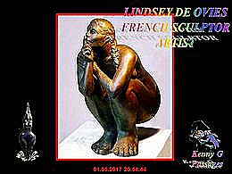 diaporama pps Lindsey de Ovies french sculpture artist