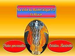 diaporama pps Ma visite au musée Lalique en Alsace 2