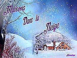diaporama pps Maisons dans la neige
