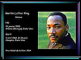 diaporama pps Martin Luther King