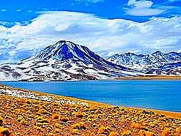 diaporama pps Miscanti lake chile