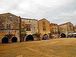 diaporama pps Monpazier Dordogne