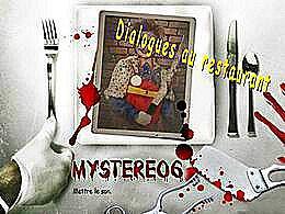 diaporama pps Dialogues au restaurant