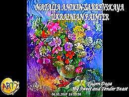 diaporama pps Natalia Anikin-Zakrevskaya – Ukrainian painter