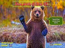 diaporama pps Nos amis drôles 33