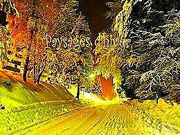 diaporama pps Paysages d'hiver