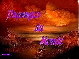 diaporama pps Paysages du monde