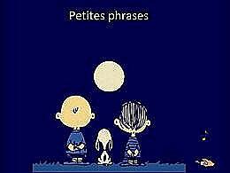 diaporama pps Petites phrases