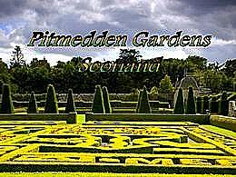 diaporama pps Pitmedden gardens Scotland