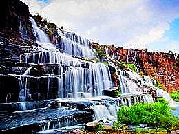 diaporama pps Pongour Falls Vietnam