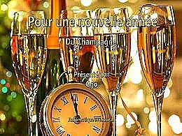 diaporama pps Pour une nouvelle année du champagne