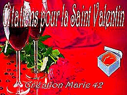 diaporama pps Citations de la Saint Valentin