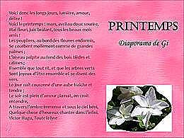 diaporama pps Printemps