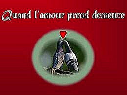 diaporama pps Quand l'amour prend demeure