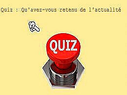 diaporama pps Quiz Actualité