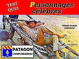 diaporama pps Quiz personnages célèbres