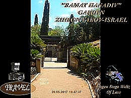 diaporama pps Ramat Hanadiv Garden Zichron Yaakov Israel