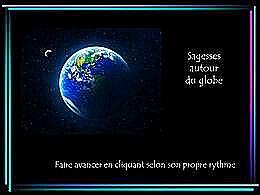 diaporama pps Sagesses du monde