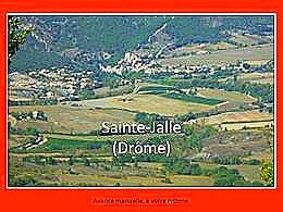 diaporama pps Sainte Jalle – Drôme