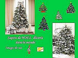 diaporama pps Sapin de Noël dans le monde