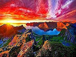 diaporama pps Senja island Norway
