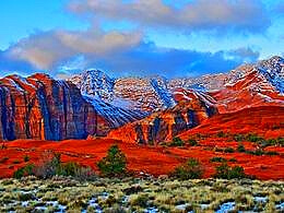 diaporama pps Snow Canyon state park USA