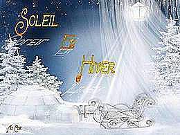 diaporama pps Soleil en hiver
