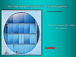 diaporama pps Sony world photography awards 2017