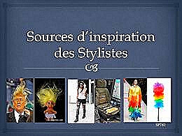 diaporama pps Sources d'inspiration des stylistes