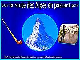 diaporama pps Sur la route des Alpes