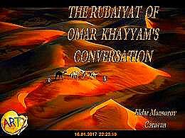 diaporama pps Rubaiyat of Omar Khayyam's conversation