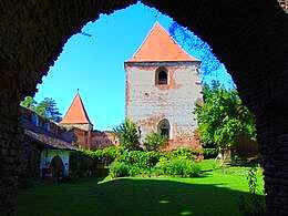 diaporama pps Touriste dans mon pays forteresse de Slimnic