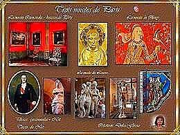 diaporama pps Trois musées de la ville de Paris