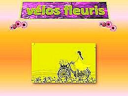 diaporama pps Vélos fleuris