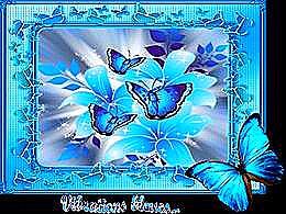 diaporama pps Vibrations bleues