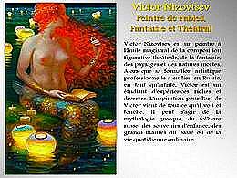diaporama pps Victor Nizovtsev peintre de fables fantaisie et théâtrale