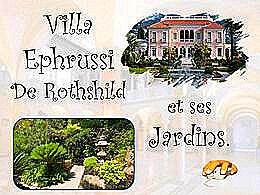 diaporama pps Villa Ephrussi de Rothschild