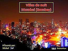 diaporama pps Villes de nuit – Mumbai Bombay