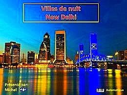 diaporama pps Ville de nuit – New Delhi